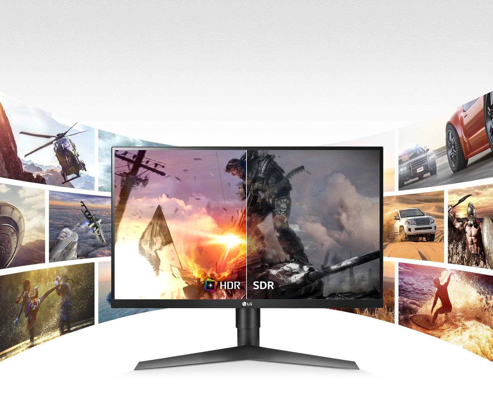 Màn hình LCD 27'' LG 27GL650F-B IPS 144Hz FreeSync